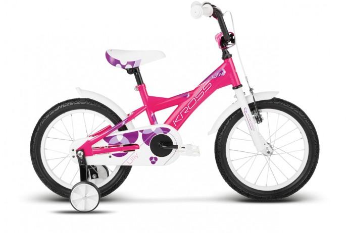 """KROSS Lilly koło 16"""" Pink White Purple"""