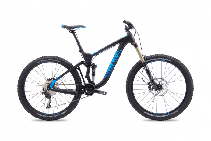 "MARIN Attack Trail 7 koło 27,5"" Black Blue 2018"