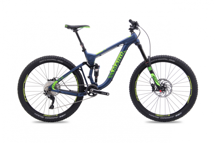 "MARIN Attack Trail 8 koło 27,5"" Blue Green 2018"
