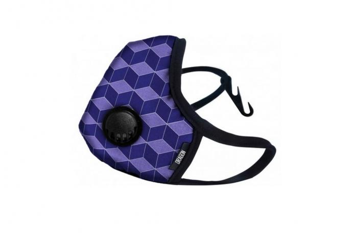 Maska DRAGON Casual Purple Cube