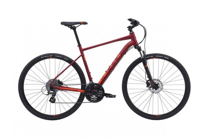 "MARIN San Rafael DS2 koło 28"" Crimson 2018"