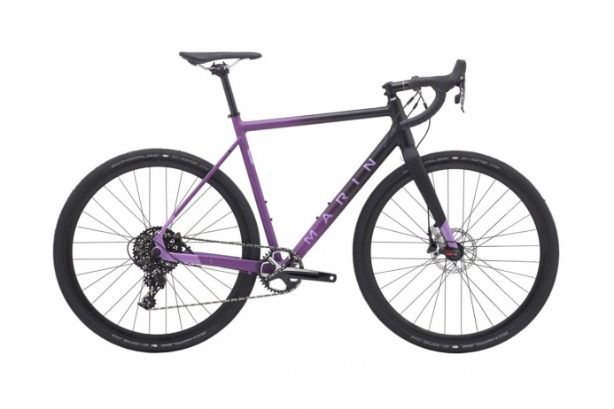"MARIN Cortina AX 2 koło 28"" Black Purple 2018"
