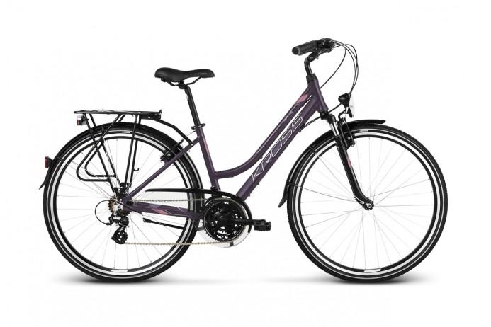 """KROSS Trans 2.0 koło 28"""" Purple Pink Silver"""