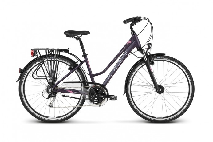 "KROSS Trans 5.0 koło 28"" Purple Silver"