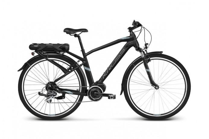 """KROSS Trans Hybrid 2.0 koło 28"""" Black Blue Silver"""