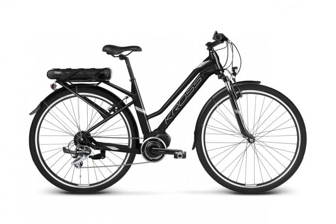 """KROSS Trans Hybrid 2.0 koło 28"""" Black Silver"""