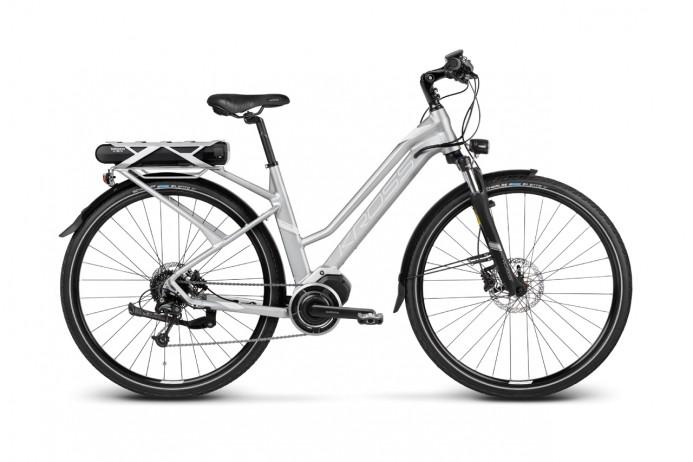 """KROSS Trans Hybrid 3.0 koło 28"""" Silver White"""