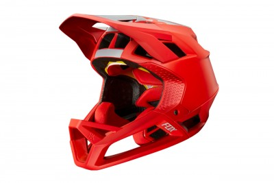 FOX kask Proframe Red Bull LE Light Red 2019
