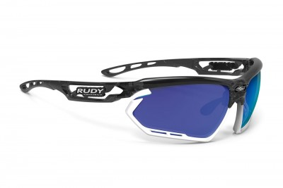 RUDY PROJECT okulary Fotonyk Crystal graphite / Bumpres White - Multilaser Blue