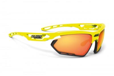 RUDY PROJECT okulary Fotonyk Yellow fluo gloss / Bumpres Black - Multilaser Orange