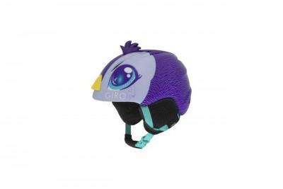 GIRO Kask zimowy LAUNCH PLUS purple/pengiun 2020