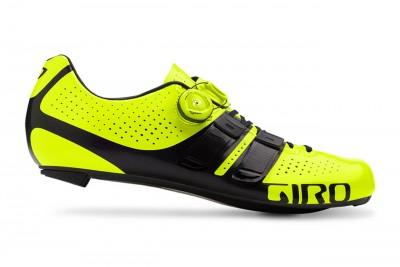 GIRO buty szosowe Factor Techlace Highlight yellow Black