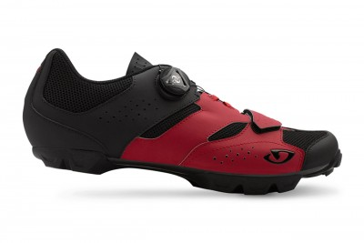 GIRO buty Cylinder Dark red Black