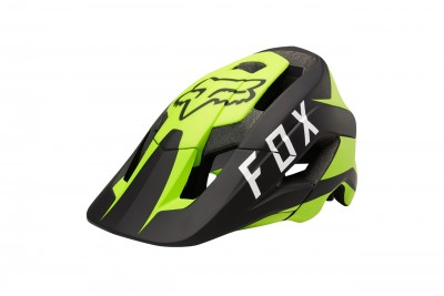 FOX Metah Flow kask Yellow Black 2018