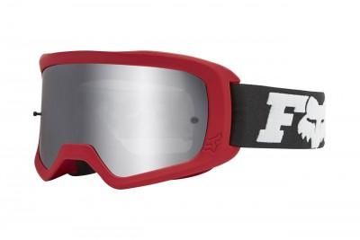 FOX Gogle Main II Linc Flame Red - Szyba Chrome Mirror (1 Szyba W Zestawie) 2020