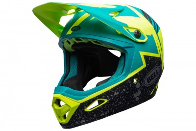 BELL kask Transfer-9 matte Retina Sear Emerald revolution