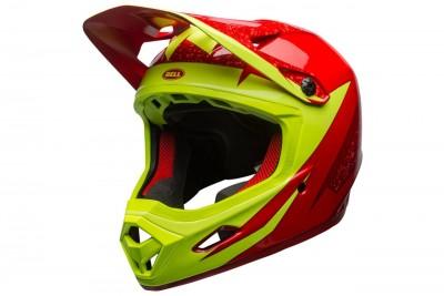 BELL kask Transfer-9 gloss Red Marsala Retina Sear viper