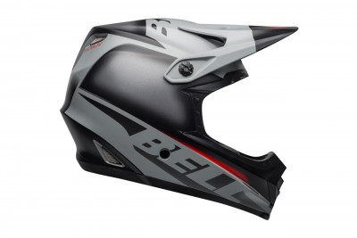 Kask BELL FULL-9 FUSION MIPS matte gloss black gray crimson 2019
