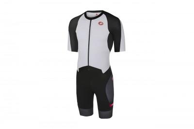 CASTELLI Strój triathlonowy All Out Speed White/Black