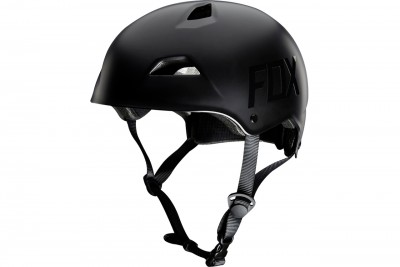 FOX fight hardshell kask Matte Black