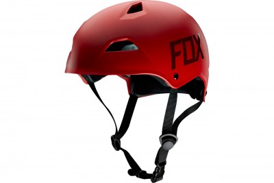 FOX fight hardshell kask Matte Red