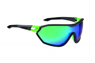 ALPINA okulary S-WAY CM kolor coal matt-green szkło green mirror S3