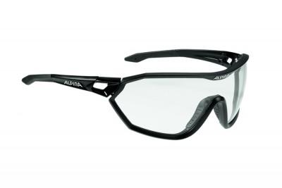 ALPINA okulary S-WAY VL+ kolor black matt szkło black S1-3 Fogstop