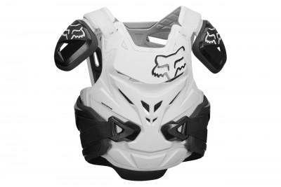 FOX Airframe Pro zbroja Black White