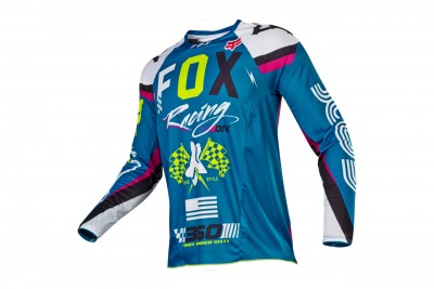 FOX 360 Rohr jersey Teal