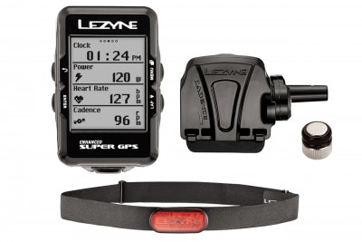 LEZYNE komputer rowerowy Super GPS HRSC loaded