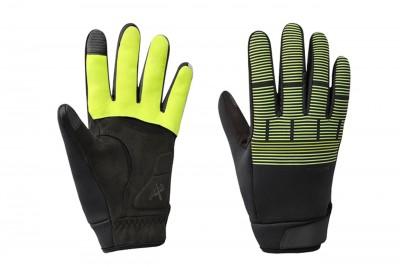 SHIMANO rękawice zimowe Windbreak Therm Ref Neon yellow