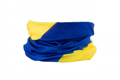 KROSS chusta Tube Blue Yellow
