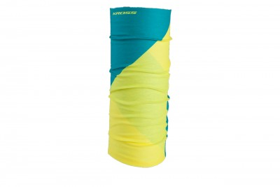KROSS chusta Tube Yellow Green