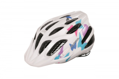 ALPINA kask FB junior 2.0 White butterfly