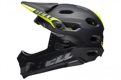 BELL kask SUPER DH MIPS SPHERICAL Black 2020