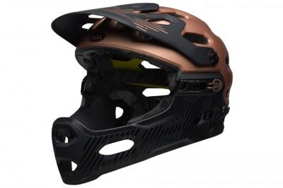 BELL kask Super 3R MIPS Matte Gloss Cooper Black