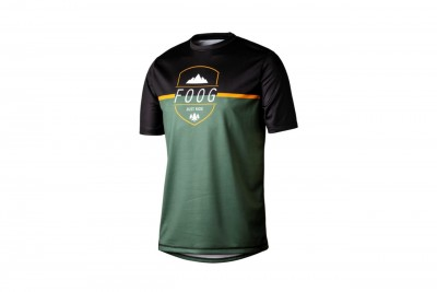Foog Wear t-shirt Just Ride Green