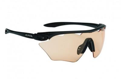 ALPINA okulary Twist Four Shield VL+ kolor black matt szkło BLK S1-3 Fogstop