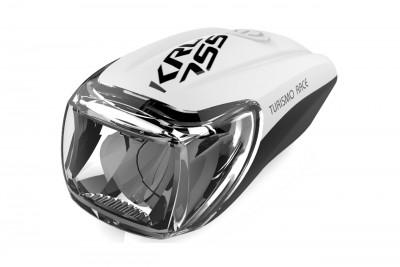 KROSS lampka przednia Turismo Pro White