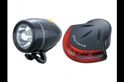 TOPEAK lampy zestaw high lite combo II black (white lite II + red lite II)