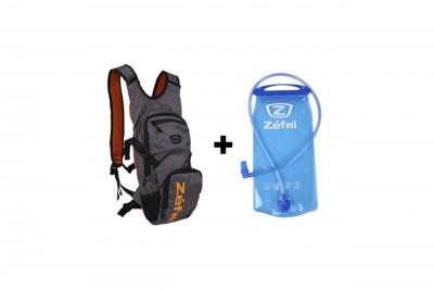 ZEFAL Plecak z bukłakiem HYDRO XC DARK Black/Orange